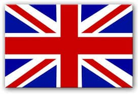 union jack flag which massage chair
