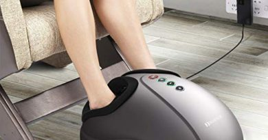 Fei Yan-US Shiatsu Foot Massager Electric Heat Kneading
