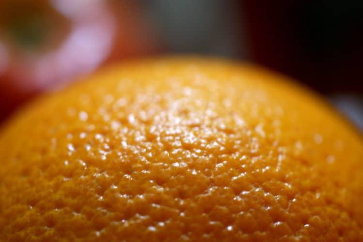 cellulite orange skin