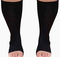 Compression Socks Toeless XXWide Calf