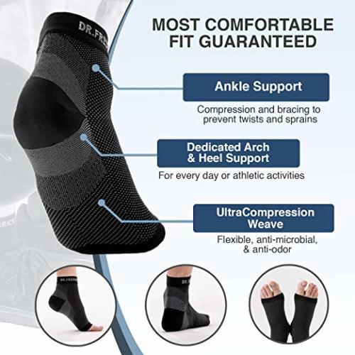 Dr. Frederick's Original Plantar Fasciitis Socks for Women & Men