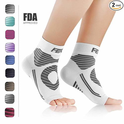 FEATOL Plantar Fasciitis Socks with Arch Ankle Support Compression Socks