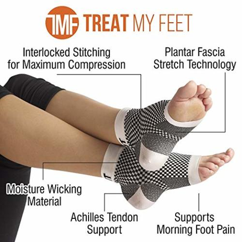 Plantar Fasciitis Support & Ankle Compression Socks