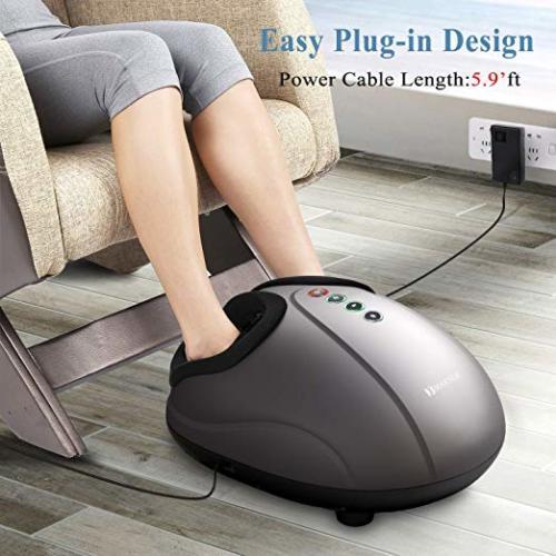 Fei Yan-US Shiatsu Foot Massager Electric Heat Kneading